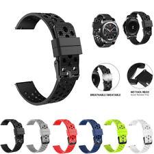 22mm Correa Banda Reloj De Silicona Moda Para Samsung Gear S3 Frontier Classic