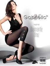 GABRIELLA Diamante Uno Luxury Super Fine Decorative Diamante Patterned Leggings