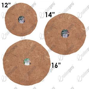 "HANGING BASKET COCONUT FIBRE LINERS - FLAT - 12"" 14"" or 16"" Multi Buy Deals"