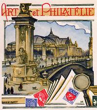 Yt1834 ART ET PHILATELIE 75  FRANCE  FDC Enveloppe Lettre Premier jour