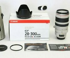 CANON EF 28-300 f3.5-5.6 L IS USM 🏠 for R* +EOS Mark II, Full Frame PROFESIONAL