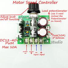 DC12V- 40V Universal PWM Motor Speed Switch Controller Volt Regulator Module