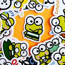 42 Keroppi Kawaii Stickers, Journal Stickers, Sanrio Stickers, Scrapbooking USA