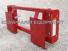 Massey Ferguson 232,236,832,838,932,1032 FEL To Skid Steer Quick Attach Adapter