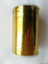 Lurex Embroidery Thread Metallic Choose Any Color 2500 Meters Buy 3 & Get 1 Gold