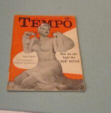 July 20 1953 Tempo Magazine Peggy Maley Dizzy Dean Joe McCarthy Marilyn Monroe