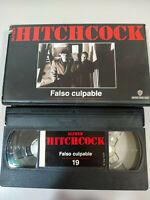 Alfred Hitchcock Falso Culpable Henry Fonda Vera Miles - VHS Español