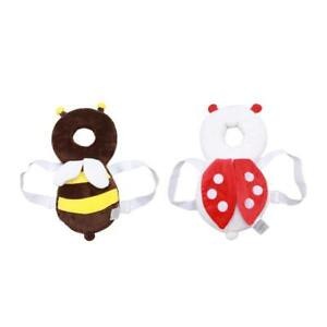 Cute Head Pad Baby Headrest Anti-Colliding Bee Useful Cloth Pillow Toddler SU