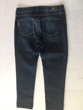 Paige Womens Size 28 Roxie Capri Jeans Dark Wash Wiskering #Y15