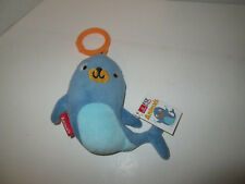 Emirates Fly with Me Animals Silka Seal Airplane Toy Travel Buddy Plush Stuffed