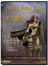 Andrea DVD1- Painting Fantasy Figures In Acrylics
