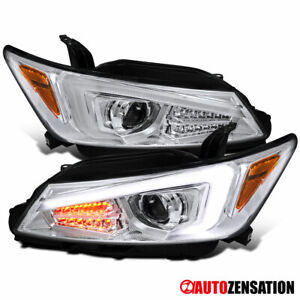 For 2011-2013 Scion tC LED Signal Clear Projector Headlights Left+RIght 2012