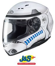 HJC CS-15 Storm Trooper Star Wars Full Face Motorcycle Helmet Collectible J&S