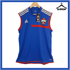 More details for cska moscow pfc football shirt adidas xl player issue soccer training vest 2013