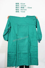 5Pcs Dental Operating Gown Doctor Uniform With Pocket Green joy