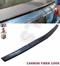 MERCEDES E CLASS W212 CARBON FIBER LOOK AMG STYLE REAR TRUNK BOOT LID SPOILER