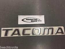 Toyota Tacoma 1998 - 2004 Tail Gate Emblem TACOMA, Genuine TOYOTA OEM