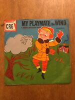 "Vintage My Playmate the Wind Children's Record Guild 10"" 78 RPM CRG4501"
