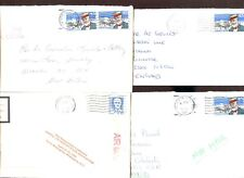 USA 1989,  4 Commercial Covers #C47967