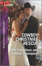 Cowboy Christmas Rescue: Rescuing the WitnessRescuing the Bride (Harlequin Roman