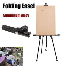 A-Frame Aluminium Easel Display Tripod Art Artist Painting Stand Paint Rack +Bag