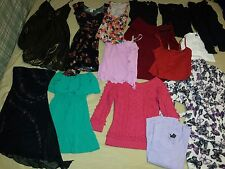 Lot of 15 Womens Dresses, Sweaters, Tank Tops, & Bath Robe Size XS & S