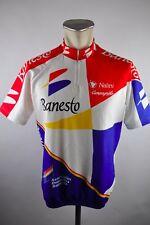Banesto vintage nalini Cycling Jersey maglia rueda camiseta talla 5 56cm u1