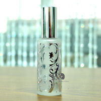 50ml Silver Waves Glass Spray Perfume Bottle Atomizer Refillable Wedding Gifts