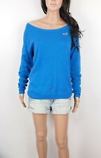Hollister By Abercrombie Women's Sweater Stone Steps Relaxed Neckline Easy Fit