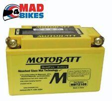 HONDA CBF500 Motobatt AGM Mejora Batería (YTZ10S) 20% Potencia Arranque