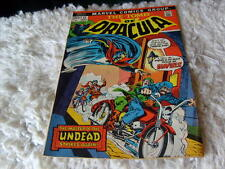 THE   TOMB  OF   DRACULA   1973    VOL 1    # 11    AUGUST     NICE    !!