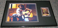 Billy Ray Cyrus Signed Framed 11x17 Photo Display