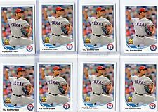 2013 Topps Yu Darvish All-Star Rookie HUGE LOT of 35 !!!!  RANGERS
