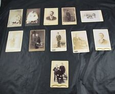 Lot Of 11 Rppc Cabinet Photos People Petterson Caddy Martin Schriever