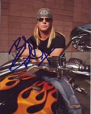BRET MICHAELS Signed Photo w/ Hologram COA