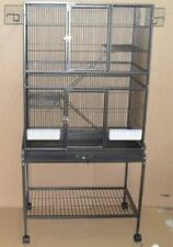 New Bird Ferret Sugar Glider Chinchilla Rat Small Animal Cage With Metal Tray091