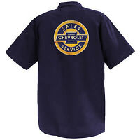 Chevrolet Sales And Service - Mechanics Graphic Work Shirt  Short Sleeve