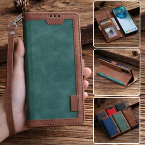 For Xiaomi Redmi Note 9S 9 8 8T 7 Pro 9A K20 Case Leather Wallet Card Flip Cover