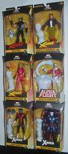 Marvel Legends Complete Set of 6 Wendigo BAF w WOLVERINE, NCRAWLER & MR SINISTER