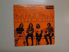"FRIJID PINK: House Of The Rising Sun +2- Portugal 7"" 1970 Deram EPDM 1014 EP PCV"