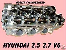 HYUNDAI KIA OPTIMA SANTA FE TUCSON 2.5 2.7 DOHC V6 CYLINDER HEAD REMAN NO CORE
