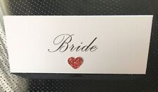 75 Personalised Wedding Name Place Cards