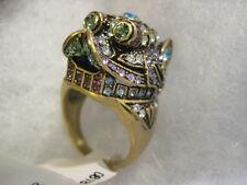 "HEIDI DAUS ""Glittering Guardian Fu Dog"" Size 8 Ring (Orig.$60.00)"