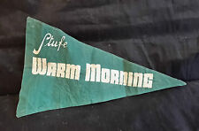 D10 > BANDIERINA PUBBLICITARIA STUFE WARM MORNING ANNI '70