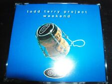 Todd Terry Project ‎– Weekend Remixes CD Single – Like New