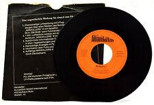 Jonny Teupen Minikillers 1969 Single *SELTEN*