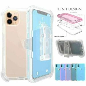 For iPhone 11 Pro Max Case Shockproof Case Cover+Belt Clip Fit Otterbox Defender