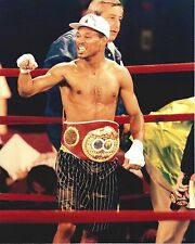 Sugar Shane Mosley 8X10 Photo Boxing Picture With Belt