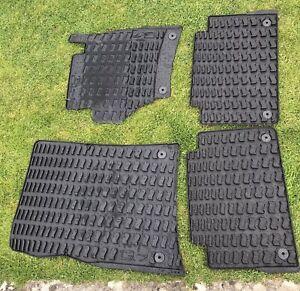 Genuine Audi Q7 rubber floor matts, Excellent Condition