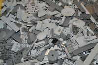 Lego 1 kg graue Bausteine Sondersteine Star Wars Teile Platten WW2